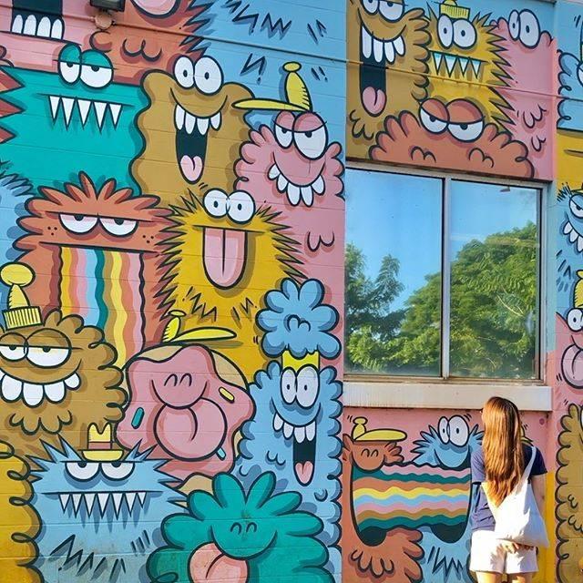 """♡ 𝕤𝕒𝕪𝕠 ♡ on Instagram: """"カカアコの ウォールアートといえばここ!  たっくさんアートあったから 写真たくさんになった❣️ ちょろちょろオススメ更新しよっと! 素敵なアート たくさん見つけて 街全体が美術館😊  #カカアコ #カカアコキッチン #カカアコウォールアート #kakaako…"""" (768028)"""