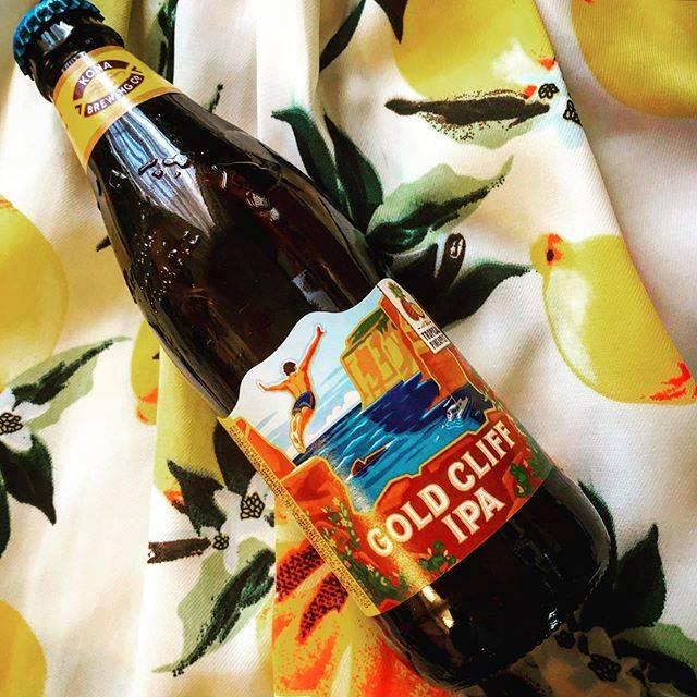 """AGOSTO on Instagram: """"コナビール ゴールドクリフ IPA (パイナップルIPA) 7.2%  限定醸造で、2018年に初デビュー!! 華やかなトロピカルフルーツのアロマとパイナップルの 濃縮果汁を使用した味わいが、苦味の強いIPAスタイルと…"""" (768885)"""