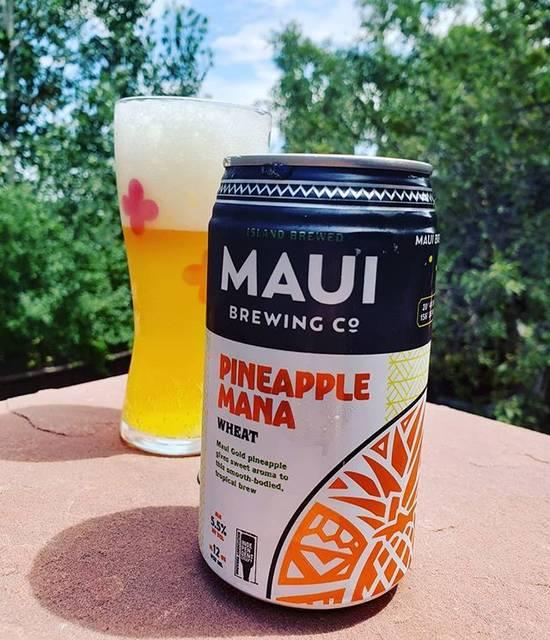"""Jess on Instagram: """"マウイのビールだけどオアフで買ったよ😆ここのブリュワリーのはコレが一番好きなビール🥰#beerlover #beer #craftbeer #mauibrewingco #pineapplemana #ビール好き #ビール #クラフトビール #マウイブリューイングカンパニー"""" (768891)"""