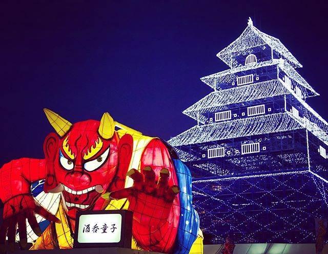 """【公式】大分市oitacity_official on Instagram: """"【大分城址公園で府内戦紙(ぱっちん)の山車展示中!】 <Funai Pacchin floats are on display in Oita Castle Ruins Park!(English Below) >…"""" (771700)"""