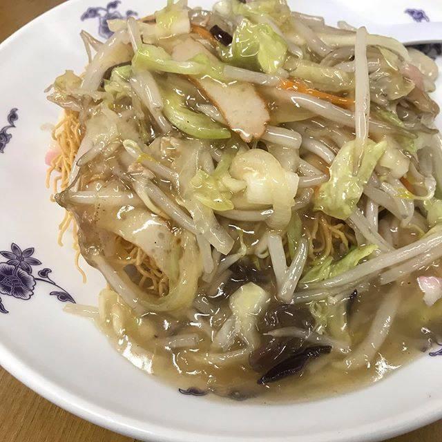 ムネノリはInstagramを利用しています:「お野菜沢山皿うどん^ ^美味しい^ ^#皿うどん#町中華」 (772181)