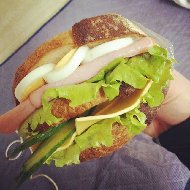 """田中大介 on Instagram: """"#サンドイッチ#石窯パン工房fournier #石窯パン工房フルニエ#sandwich#fournier"""" (772772)"""