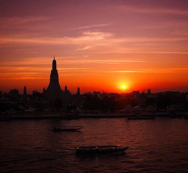 "@haruyama70h on Instagram: ""#watarun #bangkok #thailand#夕日#景色#空#タイ#バンコク#ワットアルン#チャオプラヤー川 #sky #sunset #scenery #chaophraya #chaophrayariver #photography #travel…"" (774187)"