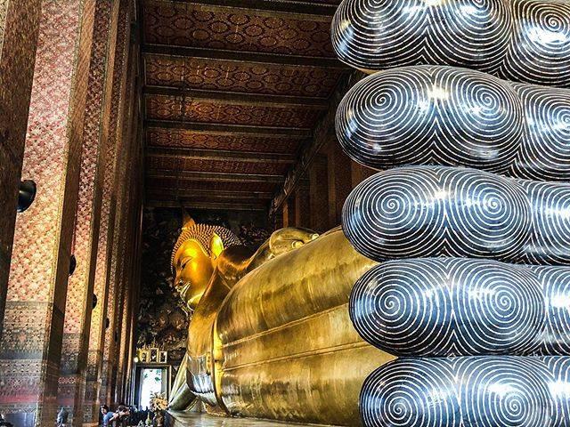 "Stephane Chen - 🇫🇷🇹🇼 - 🌈✨🐰💫 on Instagram: ""Reclining Buddha #bangkok #city #street . . . . . . . . . . . . . . .  #temple #walk #thailand #wat #thai #love #sky #chaoprayariver #boat…"" (774766)"