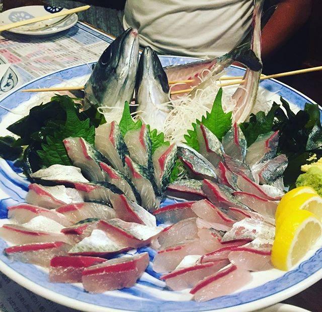 """yoichi sumida on Instagram: """"関鯖&関鯵ピクピクぴちぴちϵ( 'Θ' )϶"""" (775610)"""