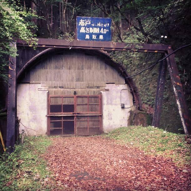 "djCorE666 on Instagram: ""旧志戸坂隧道、鳥取側は漬物の生産場としてやっぱり利用されてるようだ。"" (776398)"