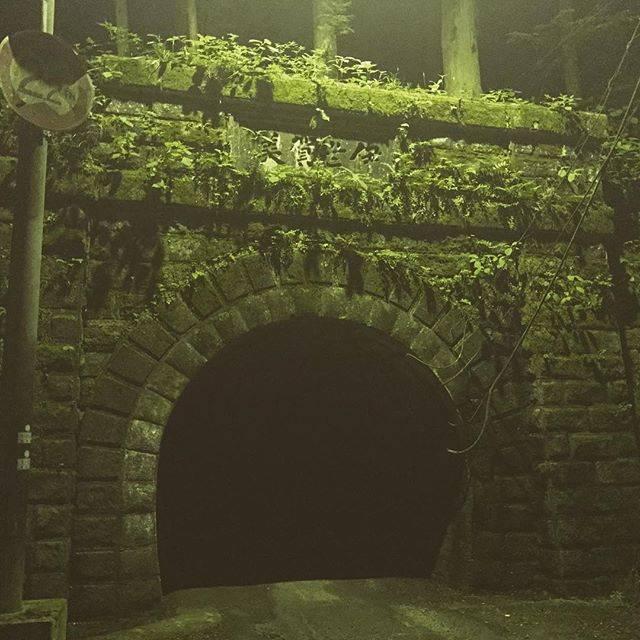 """河本亜純 on Instagram: """"心霊スポットへ行ってきた。人、結構いてそんなに怖くなかった。#旧伊勢神トンネル  #心霊スポット"""" (777159)"""