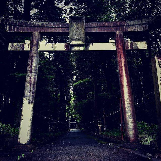 "my@favourites on Instagram: ""Tamura Shrine,triple gates 田村神社#japan #shiga #tamurashrine #triplegates#田村神社"" (781129)"