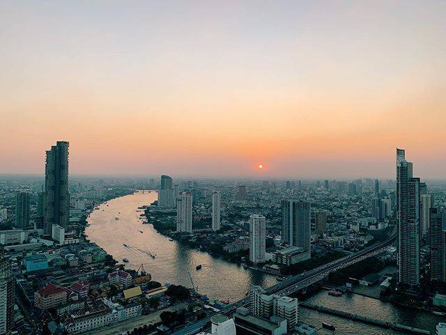 "@traveling.rem on Instagram: ""Another beautiful sunset 🥺 📍Bangkok, Thailand • • • • #bangkok #visitbangkok #sunset #views #cityviews #skyline #travel #travelgram…"" (786172)"