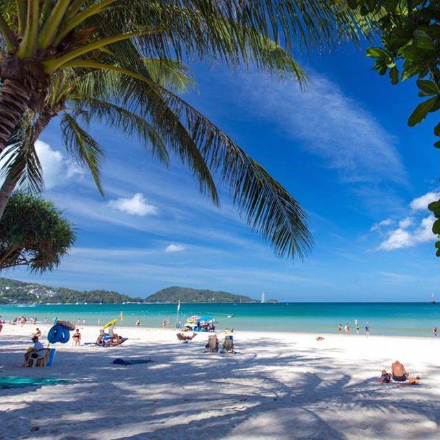 プーケット島で一番大きなパトンビーチ