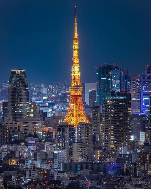 """YUYA on Instagram: """"🌐東京都  ここは初めて行きました🙆♂️ 東京タワー🗼夜景 tokyotower nightview shot📸  CANON EOS 5Dmark4 #jgrv_member  #東京カメラ部 #love_bestjapan #s_shot #special_spot_…"""" (790876)"""