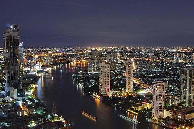 "F  A  B  I  O on Instagram: """"Todo esto antes era campo"" 😂 Top view of Bangkok 🌃 . . . #bangkok #thailand #night #lights #citylights #river #longexposure #bigcity…"" (791173)"