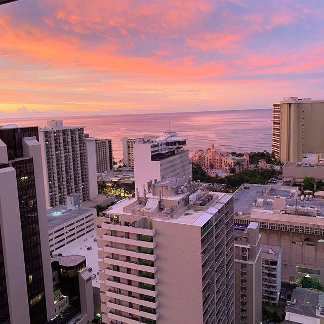 "@808hula33 on Instagram: ""このお部屋からの景色が何よりも好き  ここに帰ってくる❣️ そう思って生きる!頑張る!  体調が良く無い日もあるけれど、ここまで元気になれた事、本当に感謝  充実した毎日に感謝  フラ、辞めなくてよかった  #hula #i❤️hawaii #hawaii #waikiki…"" (791208)"