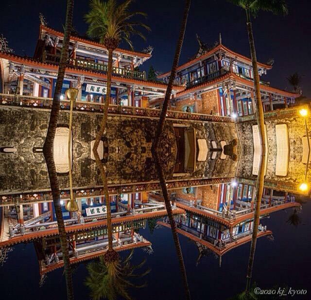 "KJ 🇯🇵 KYOTO (期間限定 KJ Taiwan) on Instagram: ""赤崁楼はライトアップされた夜がおすすめ。 幻想的な雰囲気がたまりませんでした。 ・ ・ ・ -------------------------------------------- 📍【赤崁楼】台湾・台南 📍【Chihkan Tower】Tainan・TAIWAN…"" (791313)"