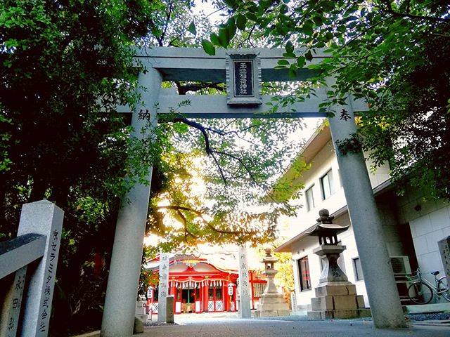 "katachan on Instagram: ""メインで使っているベースの電気系統の修理でのんびり玉造に。  ついでに久々の玉造稲荷神社へ。  創祀は垂仁天皇の時代(紀元前12年)とされている。…"" (793309)"