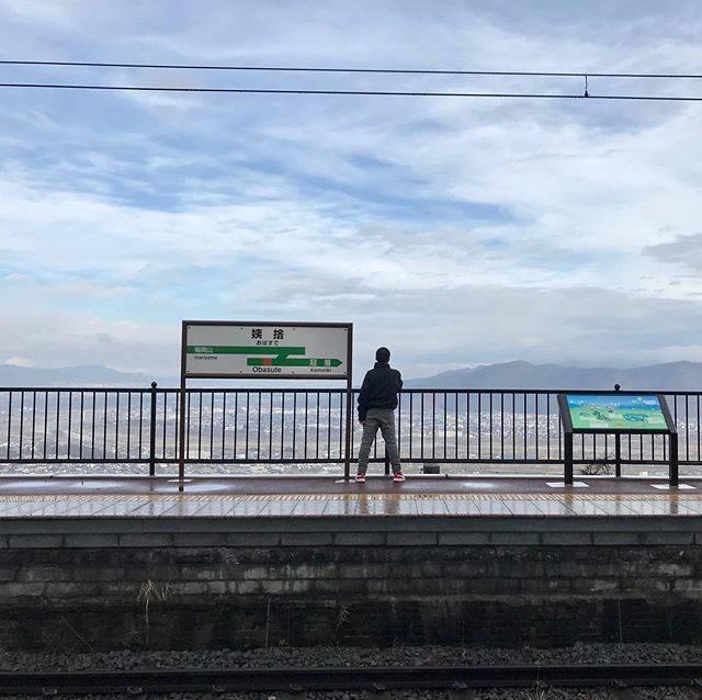 """うれしが まさと on Instagram: """"日本三大車窓の姨捨駅に来たぞー #姨捨駅  #一人旅"""" (794051)"""