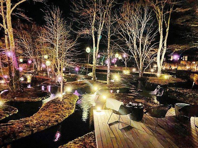 """まゆまゆ🐢 on Instagram: """"そして、夜。#ほしのや軽井沢 #星のや軽井沢 #軽井沢 #長野 #streetstyle #streetart  #travel #travelphotography #night #nightview"""" (794537)"""