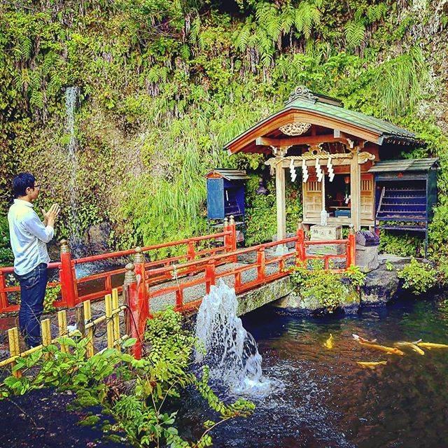 """佐々木優太【神社巡拝家】 on Instagram: """"photo by @atsushi_sekino_photography [オートバイ&RIDE 2018.11月号の神社拝走記・第15回より]  全国の神社を巡る 連載・神社拝走記。  湧き水、強い風、太い樹と、 神社巡りは、自然との出会いと言ってもいぃかもしれません。…"""" (796764)"""