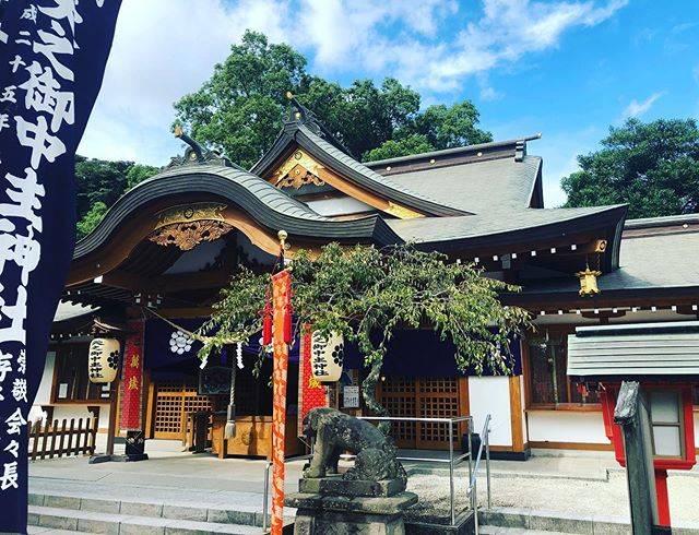 """塩満 宗人 on Instagram: """"例大祭でした。#天之御中主神社"""" (798228)"""