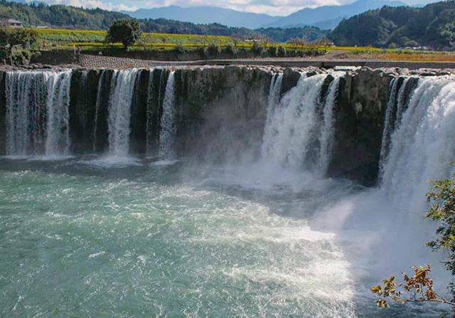 "Hiroyuki Naitoh on Instagram: ""Famous waterfall in Ooita prefecture.  思い出フォトシリーズ  #原尻の滝  ハイスピードで✨  #total_landscapes  #be_one_natura  #world_bestnature  #total_naturepics…"" (798290)"