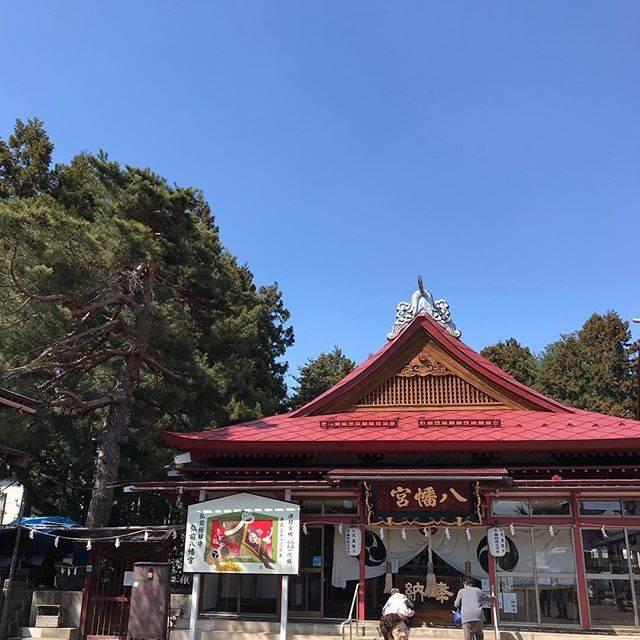 "kenji_fukushi on Instagram: ""#戌#亥#弘前八幡宮"" (804210)"