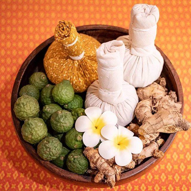 """at ease massage & spa on Instagram: """". Sawatdi kha🇹🇭😊 Have you ever tried Herbal ball? . The Thai herbal ball has a long history of use in Thailand!!✨🇹🇭 . It is a blend of…"""" (806257)"""