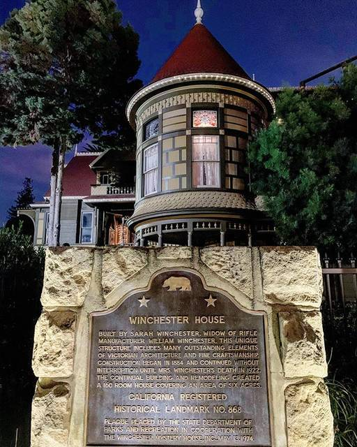 """Joanna ❤️ on Instagram: """"Our next pick-@winchestermysteryhouse This was not on our schedule but since we still had time and were close by, decided to drop by just…"""" (807424)"""