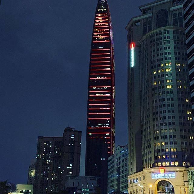 """小山 智広 on Instagram: """"中国深セン 平安国際金融ビル118階建て(600m) 深センで一番高い建物。#深セン #平安国際金融中心"""" (812227)"""