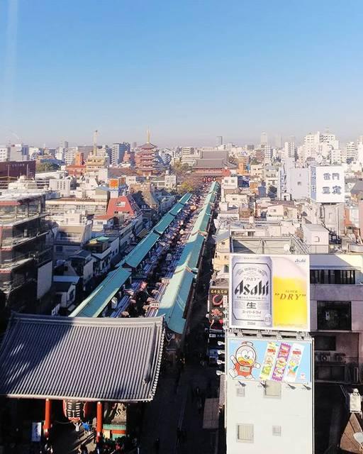 """yu-ki on Instagram: """". . . #浅草 . #東京スカイツリー からは#メトロに乗って この場所に。 . . #浅草寺 を一望。 海外からの観光客の方も多かったけど、 みんな明るくて楽しそうだったなぁ☺️ . . 待ち合わせまでの時間、一人でふらふらしてたけど、…"""" (812836)"""