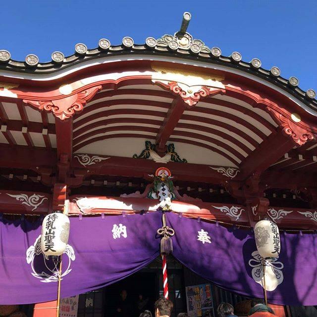 "@crossandborder on Instagram: ""本日の一コマ.初詣.#初詣#神社#待乳山聖天#浅草#asakusa#tokyo"" (812884)"