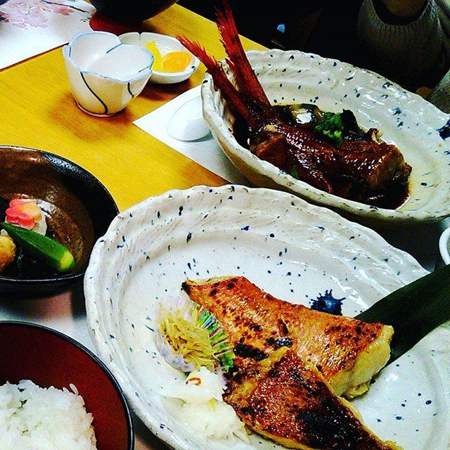 "m-s🌟備忘録 on Instagram: ""熱海へドライブ#金目鯛#西京焼#煮付け#熱海こばやし#熱海梅林混んでる"" (818553)"