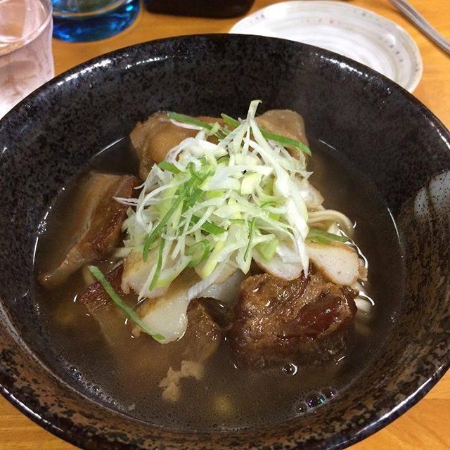 "takuya nakao on Instagram: ""#ソーキそば#仕事で沖縄#どらえもん国際通り店#飛行機降りたら夏だった"" (822641)"