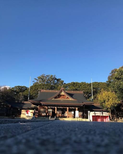"""゚・*:.。 垣野おりほ ゚・*:.。 on Instagram: """"今さら#初詣 #砥鹿神社 に行って行きました✨久しぶりのいい天気で、今日もいい日になりました✨・・#豊川 #豊橋 #神社 #いい天気 #japan #photooftheday #ファインダー越しの私の世界"""" (823292)"""