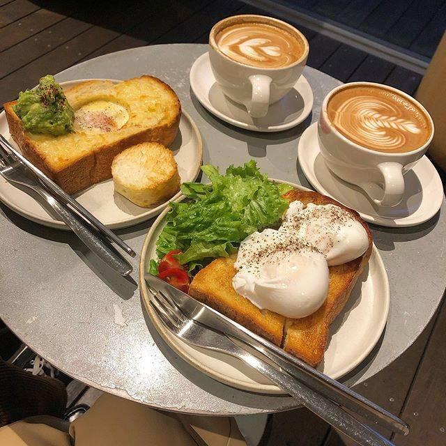 "小澤 葵 on Instagram: ""🍞🍳#bluebottlecoffee"" (823496)"