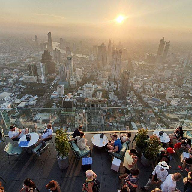 "Lee Somers on Instagram: ""I promise I do like heights😬😬😬#bangkok#kingpower#sunset#city#exploring#stunning#whataview"" (826100)"