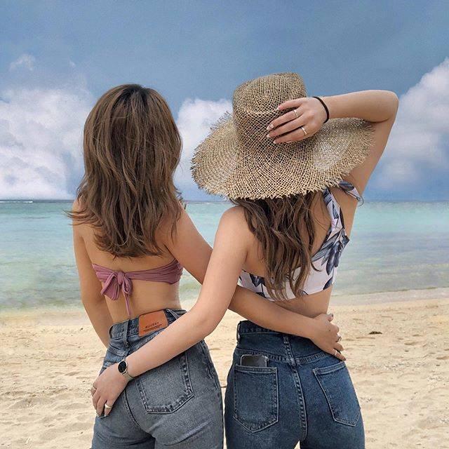 """N A C C I on Instagram: """" 本当はタイに行く予定だったけど コロナのせいで急遽沖縄へ✈   ストーリーが点々になるまで載せるほど 楽しい思い出いっぱいできた😌   3日間楽しかったのは すーのおかげ!ありがとう☺️ 次はタイリベンジしよ✌🏼️   #沖縄旅行…"""" (826219)"""