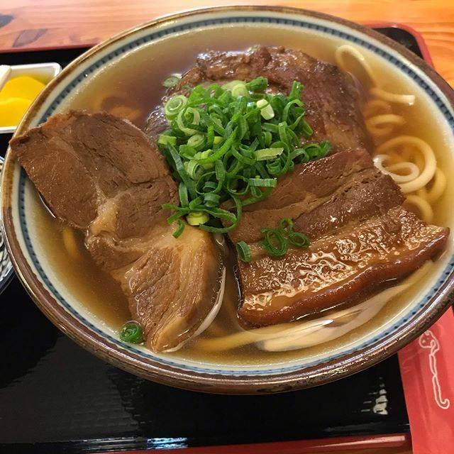 "tomoe kondo on Instagram: ""#田そば#ソーキ入り田そば #沖縄#沖縄一人旅"" (826433)"