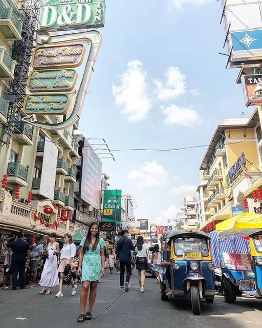 """Maribel Gaete 🌸 on Instagram: """"En las calles de khao San Road 🚖🛺 @bangkok.explore • • • #khaosanroad #khaosan #bangkok #bangkokthailand #bangkokcity #explorebangkok…"""" (827128)"""