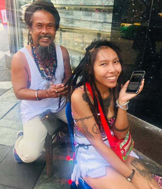 """megmi on Instagram: """"you can get dread hair in the street."""" (827188)"""