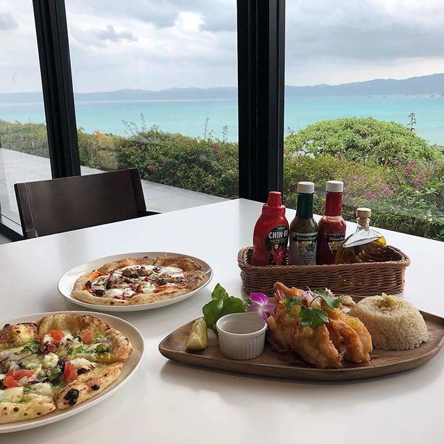"""Mio Yasuda on Instagram: """". . OCEANTOWERからの眺め最高やったよ . ごはんもめちゃ美味しかった😋 ただ沖縄のなにかを使ったやつやってんけど名前全部忘れた! . . . #oceantower #kouriisland #kourioceantower #okinawa…"""" (827458)"""