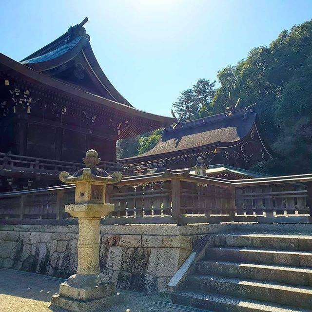 "Yui on Instagram: ""天気も良かったので、ふらっと👣👣 #初めて行った #吉備津彦神社 #神社 #岡山 #okayama #散策 #散歩"" (828973)"
