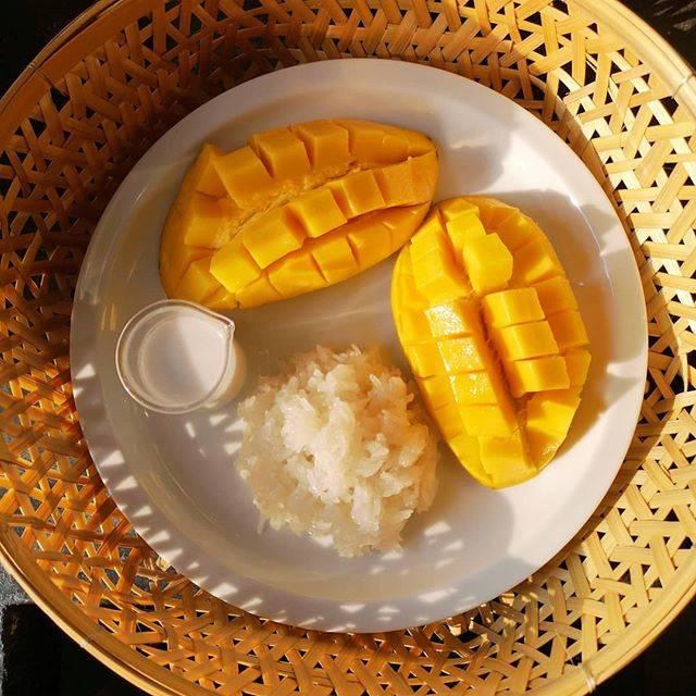 "apple leeyata on Instagram: ""Mango sticky rice season. love 💖 dessert at my home na~#ข้าวเหนียวมะม่วง"" (831211)"
