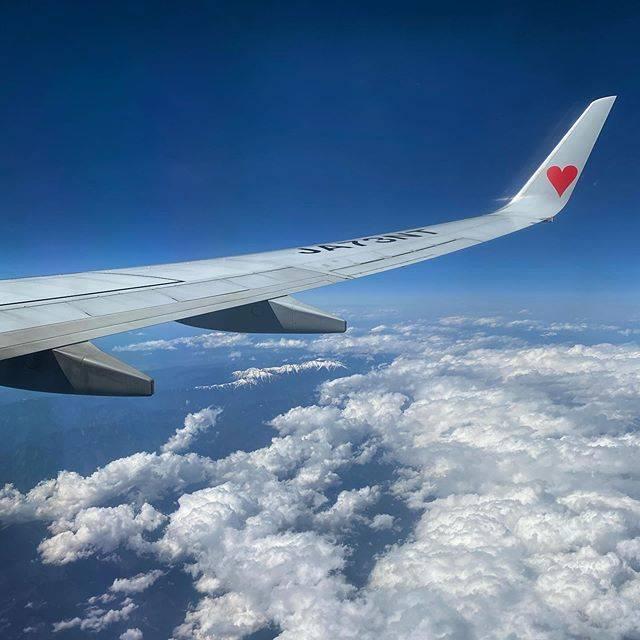 """@aloha_yi on Instagram: """"初めての沖縄はスカイマークで飛んで来ました😊❤️✈︎ . #沖縄 #okinawa #沖縄旅行 #那覇 #naha #那覇空港初めての沖縄旅行 #羽田空港 #hnd #スカイマーク #飛行機 #b737 #skymark #国内線は2回目 #飛行機好きな人と繋がりたい…"""" (831222)"""
