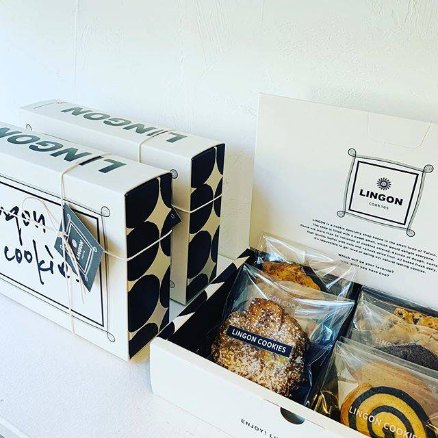 """LINGON on Instagram: """"「LINGON COOKIE BOX」人気のクッキー6種の詰め合わせです。 オンラインでもご購入頂けるようになりました。お出かけをご遠慮されている方にもお楽しみいただけますように…lingon.buyshop.jp"""" (849289)"""