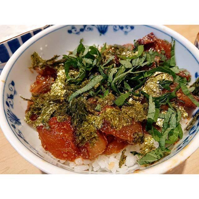 "eruri on Instagram: ""過去pic兵庫岡山香川旅行その4岡山名物 鰆の丼物🐟🌸美味しかった🤤💓"" (860505)"
