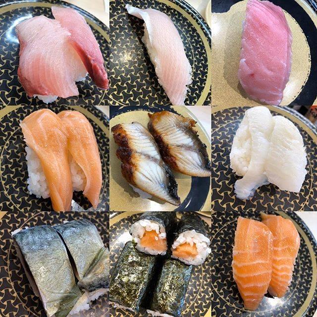"""Eri Yamanaka on Instagram: """"久々に一人はま寿司。幸せな時間。#はま寿司#サーモン最高#これだけ食べても#1023円#安いけど美味しい#ありがたい"""" (862281)"""