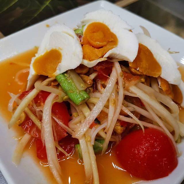 "Kieky1979 on Instagram: ""#ส้มตำไข่เค็ม #เมืองไทยมีแต่ของอร่อย #thailand #thaifood"" (863134)"