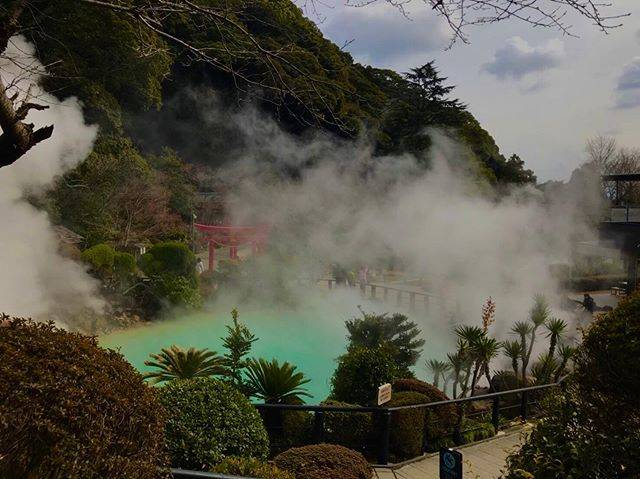 "Yuu Seki on Instagram: ""#別府 #海地獄 #別府温泉 #beppuonsen #beppu #japan #onsen♨️"" (866165)"