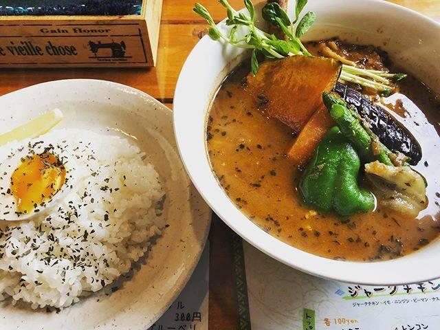 """NaomiSuzuki on Instagram: """"#先日のランチ#スープカレー#CurryQ#美味しくいただきました"""" (867055)"""