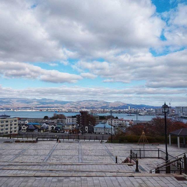 "@ao1siro1kiiro1 on Instagram: ""・いつかの函館去年の函館・元町公園。また行きたいなー。#函館#北海道#元町公園#旅行"" (869804)"